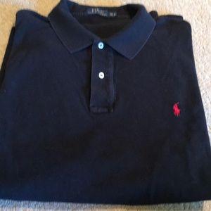 Black 2XLT Polo shirt